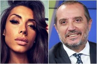 Chi è Giulia Berdini, la fidanzata di Franco Di Mare che ha attaccato Fedez