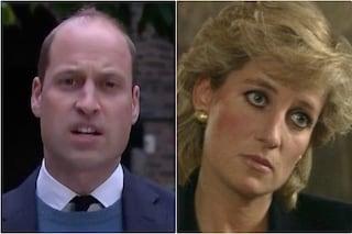 """William tuona: """"Le bugie della BBC hanno alimentato paura, paranoia e isolamento di mia madre Diana"""""""