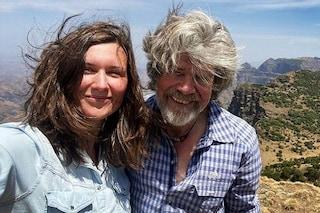 Reinhold Messner si sposa per la terza volta a 76 anni, chi è la compagna Diane Schumacher