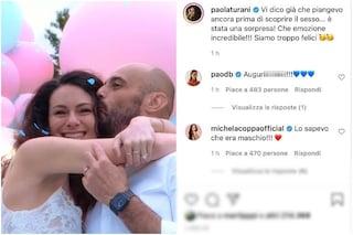 """Paola Turani futura mamma ha svelato il sesso del bebè: """"È stata una sorpresa"""""""