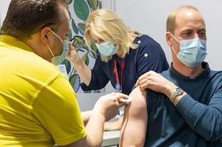 """Il principe William si è vaccinato contro il Covid-19: """"È molto importante"""""""