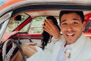 """Giovanni Simeone e Giulia Coppini sposi: """"Quando è morto Davide Astori, lei è stata la mia certezza"""""""