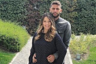 Domenico Berardi e la fidanzata Francesca Fantuzzi, l'amore nato su Facebook e il figlio Nicolò