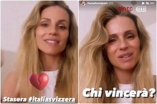 """Michelle Hunziker: """"Italia o Svizzera? Ho il cuore diviso a metà"""", ecco quale squadra tiferà stasera"""