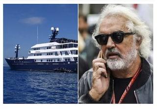 Flavio Briatore esulta, la cassazione annulla il sequestro del suo mega yacht