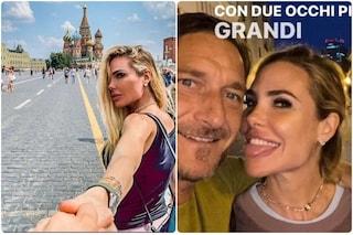 Ilary Blasi e Francesco Totti volano in Russia, primo viaggio all'estero mentre la pandemia rallenta