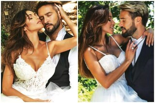Delia Duran e Alex Belli si sono sposati, le foto delle nozze