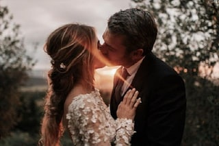 """Luca Argentero e Cristina Marino sposi, la prima foto delle nozze: """"Come in una favola"""""""