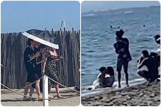 """Giulia e Sangiovanni travolti dalla passione: foto e video """"rubati"""" del servizio inedito"""