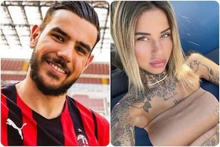 Theo Hernandez e Zoe Cristofoli sono più innamorati che mai