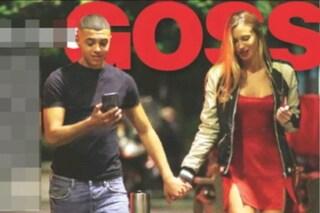 Taylor Mega e il rapper Sacky di 19 anni, la foto del bacio appassionato