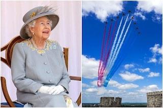 La regina Elisabetta festeggia il primo compleanno senza Filippo: video e foto della cerimonia