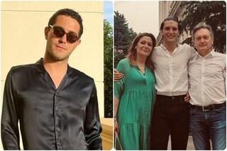 """""""Bravissimo, amore mio"""": Tommaso Stanzani si diploma, gli auguri di Zorzi assente ai festeggiamenti"""