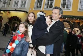 """Josè Mourinho e la sua famiglia """"Special"""": la moglie Matilda e i due figli Matilde e José jr"""