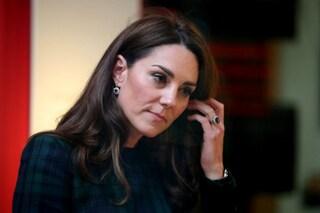 Kate Middleton in isolamento, è entrata in contatto con una persona positiva al Covid
