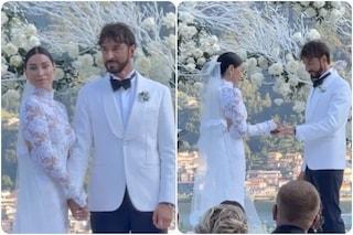 Giorgia Gabriele, l'ex di Gianluca Vacchi, si è sposata con Andrea Grilli