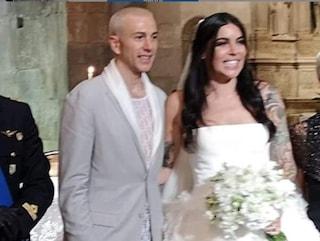 """Matrimonio Bernardeschi, il prete: """"Più emozionato oggi o quando hai battuto il rigore in finale?"""""""