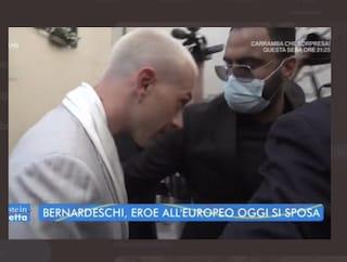 Bernardeschi arriva in ritardo alle nozze, la sposa Veronica Ciardi costretta ad attenderlo