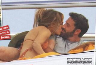 Jennifer Lopez e Ben Affleck di nuovo fidanzati: le foto esclusive delle loro vacanze italiane