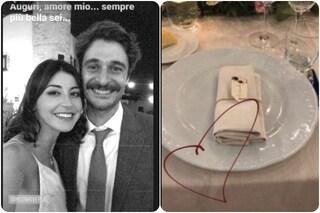 """I dolcissimi auguri di Lino Guanciale alla moglie Antonella Liuzzi: """"Sei sempre più bella"""""""