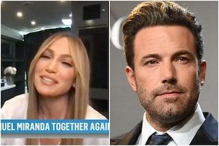 """Jennifer Lopez risponde alle domande su Ben Affleck: """"Sono più felice? È un buon momento"""""""