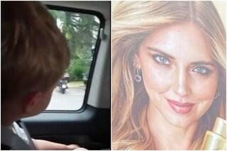 Leone vede mamma Chiara Ferragni sul cartellone pubblicitario, il video della reazione è tenerissimo