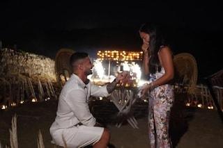 Temptation Island, Andrea Celentano sposa Raffaella Giudice: il video della proposta di matrimonio