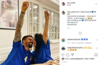"""Miriam Sette, moglie di Spinazzola dopo la vittoria dell'Italia: """"Notti magiche, giorni difficili"""""""