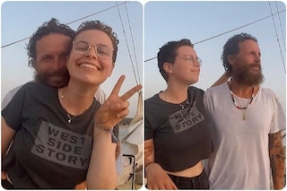 L'estate di Jovanotti e sua figlia Teresa, abbracci e sorrisi in barca a vela