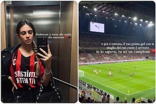 """La dedica di Giulia Pastore, la ragazza di Sandro Tonali: """"Sapevo sarebbe arrivato, sei un campione"""""""