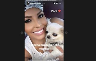 """Carolina Marconi ritrova il suo cane Zora: """"È il giorno più bello della mia vita"""""""