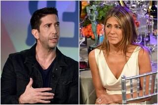 """David Schwimmer smentisce le voci sulla storia d'amore con Jennifer Aniston: """"Tutto falso"""""""