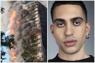 Anche Mahmood ha un appartamento nel palazzo distrutto e incendiato a Milano