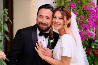 Federico Zampaglione e Giglia Marra si sono sposati, la dolce serenata del leader dei Tiromancino