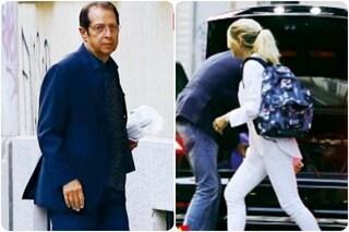 Paolo Berlusconi e Maddalena Corvaglia beccati di nuovo insieme