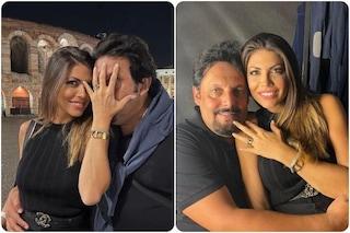 Flora Canto ed Enrico Brignano si sposano, il video della proposta di matrimonio all'Arena di Verona