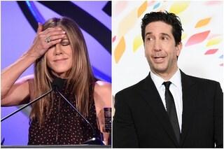 """Jennifer Aniston e il presunto flirt con David Schwimmer: """"Assurdo, è come un fratello per me"""""""