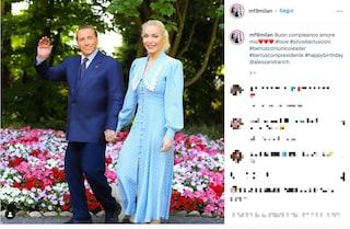 """Silvio Berlusconi compie 85 anni, gli auguri di Marta Fascina: """"Buon compleanno amore mio"""""""