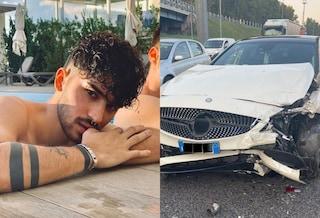 """Incidente per Valentino di Matt & Bise, schianto in auto con la compagna incinta: """"Stiamo bene"""""""