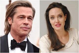 """Angelina Jolie sul divorzio da Brad Pitt: """"Ho avuto paura per la sicurezza dei miei figli"""""""