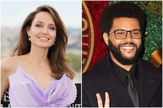 """Angelina Jolie e The Weeknd, lo scoop: """"Più di 2 ore insieme nel privé di un ristorante"""""""