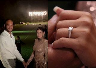 Marcell Jacobs chiede a Nicole di sposarlo, la proposta sulla pista dove è diventato campione