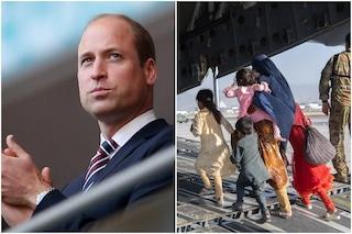 Afghanistan, il principe William ha aiutato una famiglia a scappare da Kabul
