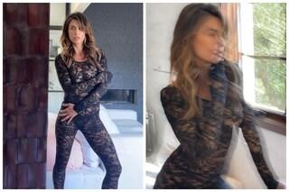 Elisabetta Canalis versione Catwoman (ma senza maschera) strega tutti su Instagram