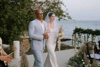 Meadow Walker sposa, Vin Diesel l'ha accompagnata all'altare al posto del papà Paul Walker
