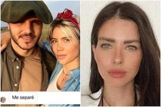 """Tra Mauro Icardi e Wanda Nara c'è Eugenia Suarez, l'sms che lo inchioda: """"Vorrei incontrarti"""""""