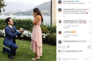 I Me contro Te si sposano, il video della proposta di matrimonio di Luì a Sofì