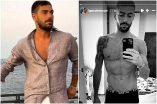 Ignazio Moser ha perso 10 chili e mostra la foto del suo cambiamento