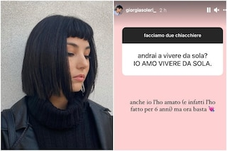 Giorgia Soleri fidanzata con Damiano dei Maneskin andrà a convivere