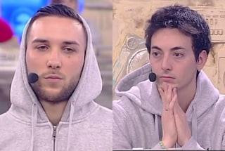Briga vs Luca ad Amici, la sfida in studio finisce in parità ma continua sul web
